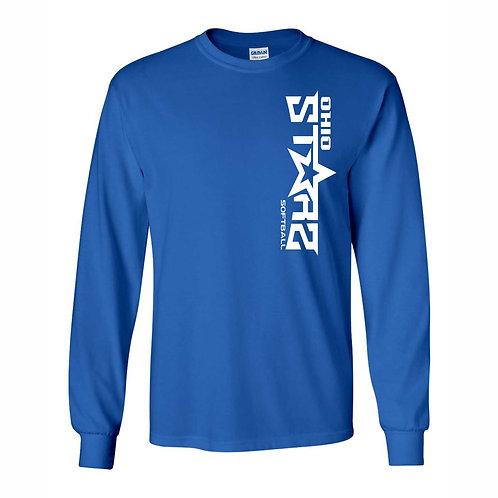 Long Sleeve T - BLUE - D1 - OSS