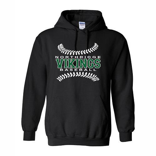 Hooded Sweatshirt - BLACK - D1 - NYAA BB