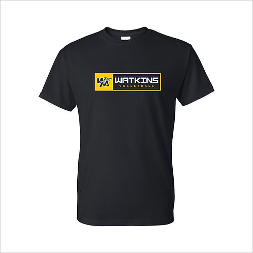 WMV Black Watkins T-Shirt D2