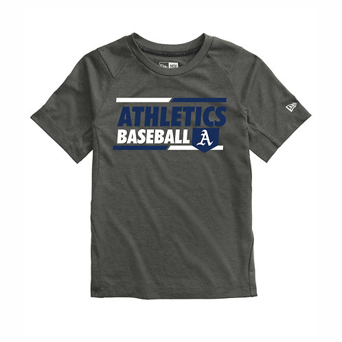 NEW Era® - GRAPHITE - YOUTH T-Shirt - A's D2