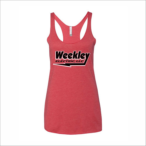 Weekley - Ladies Tank Top - RED - MC21