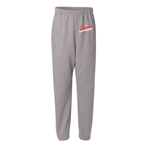 Open Bottom Sweatpants - GREY - JSB21 - D2