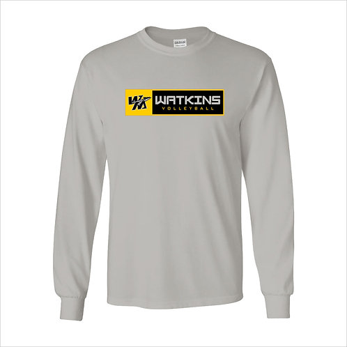 WMV Grey Watkins Long Sleeve T-Shirt D2