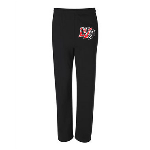 LVF JERZEES - NuBlend® Open Bottom Sweatpants with Pockets