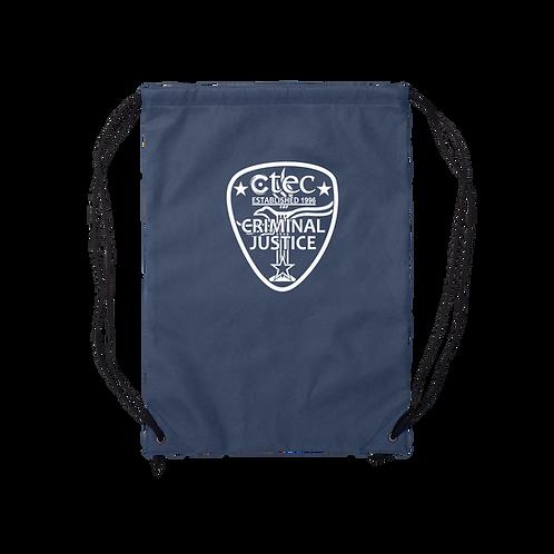 Criminal Justice Cinch Bag