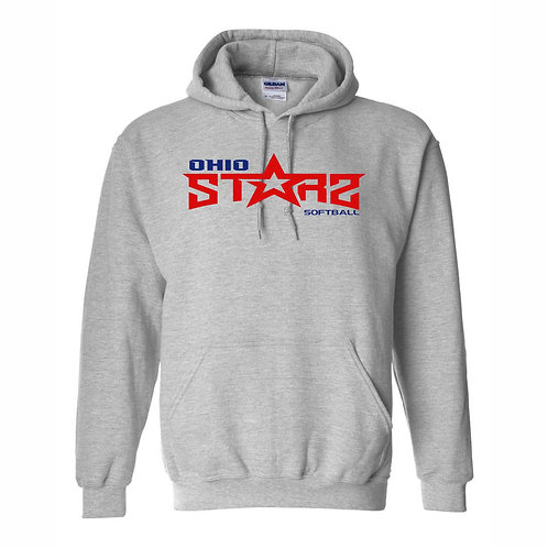 Hooded Sweatshirt - GREY - D2 - OSS