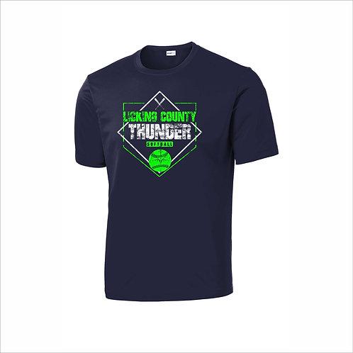 Thunder - Navy - Dri Fit Shirt  - D2