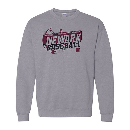 Crewneck Sweatshirt - GREY - NBB21 - D2