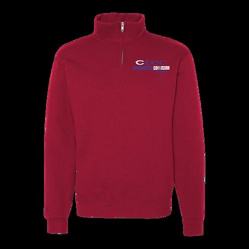 AUTO Senior 1/4 ZIP Fleece Sweatshirt
