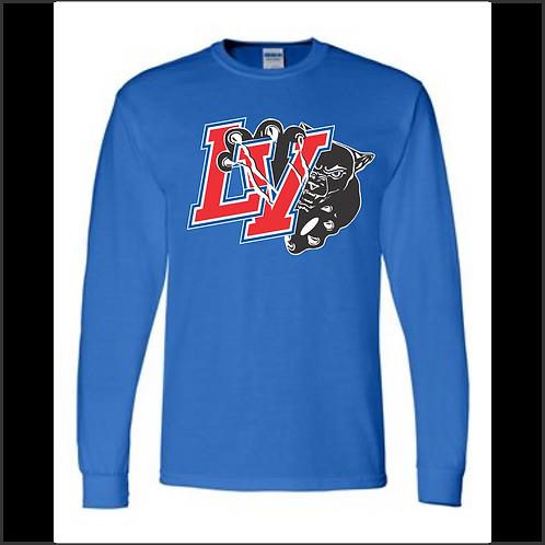 LVF Gildan - DryBlend® LS BLUE 2