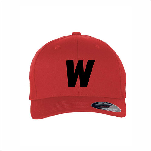 Weekley - Fitted Hat - RED - MC21