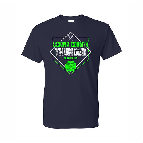 Thunder - Navy - Reg T-Shirt  - D2