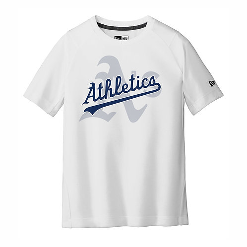 NEW Era® - WHITE - YOUTH T-Shirt - A's D1