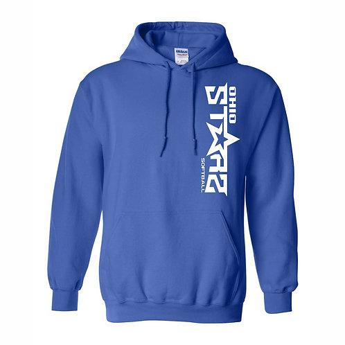 Hooded Sweatshirt - BLUE - D1 - OSS
