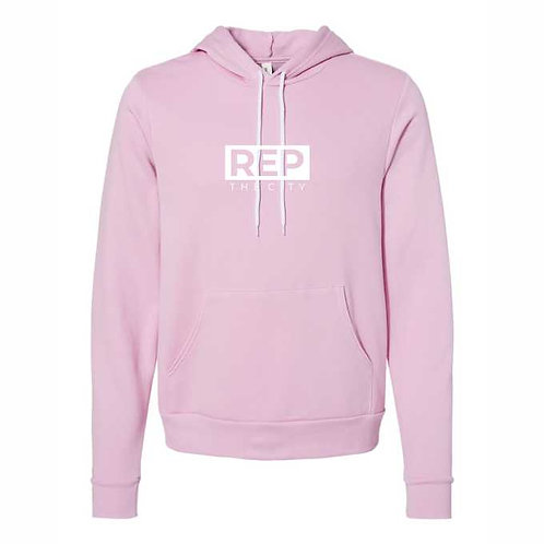 REP The City Lilac Hoodies