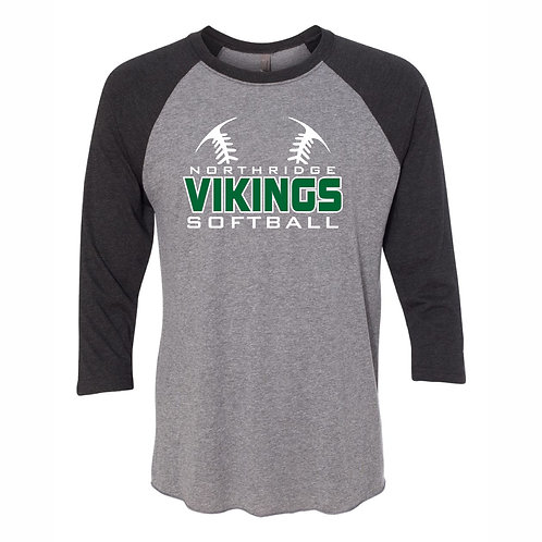 Baseball Shirt - GREY- D1 - NYAA SB