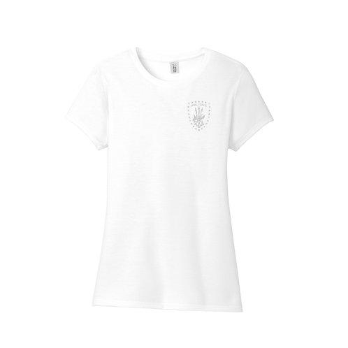 Ladies Tri Blend T - WHITE -ASSET EDITION