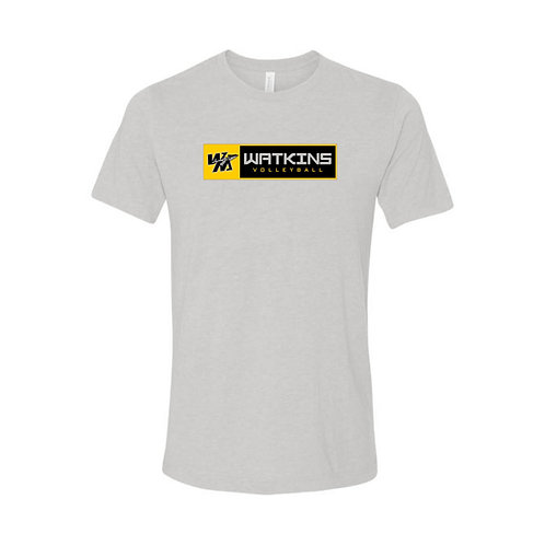 WMV Grey Watkins Tri Blend T-Shirt D2