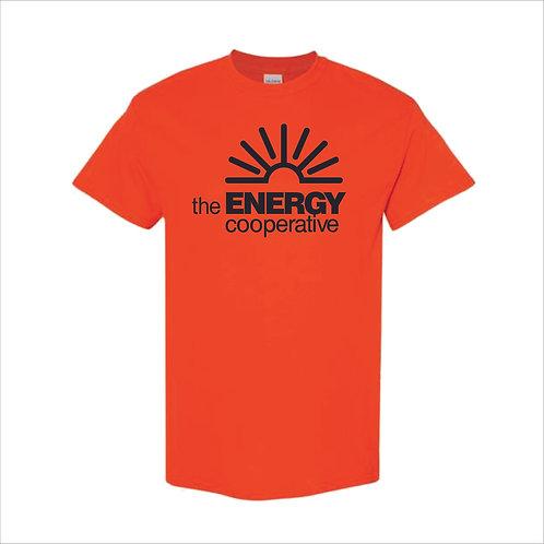The Energy Co - T Shirt - ORANGE - MC21