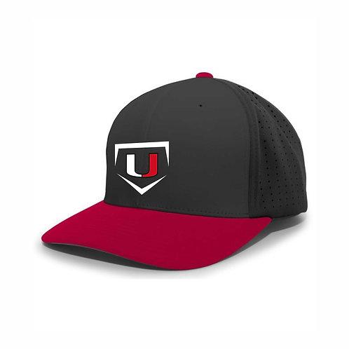 Baseball Hat - Black/Red - UB2021