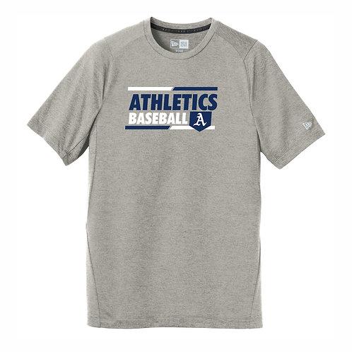NEW Era® Sport Grey T-Shirt - A's D2