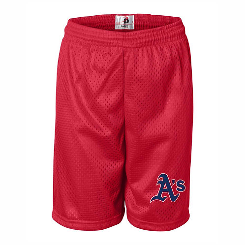 RED - Pro Mesh Shorts - A's