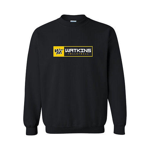WMV Black Watkins Crewneck D2