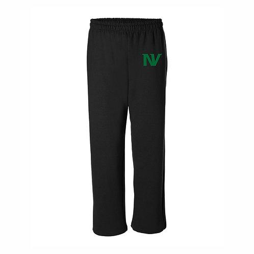 Vikings Open Bottom Sweatpants