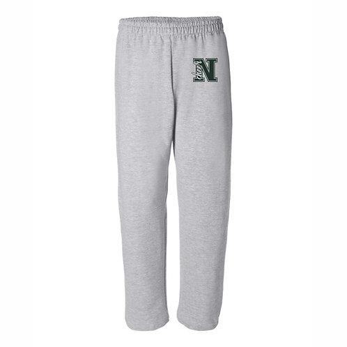 NHS Cheer Open Bottom Sweatpants