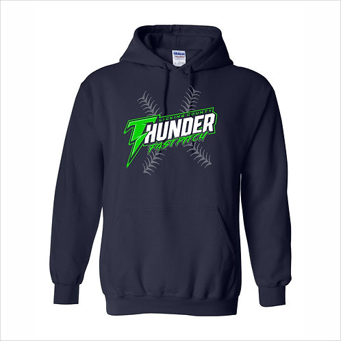 Thunder - Navy - Hoodie  - D1
