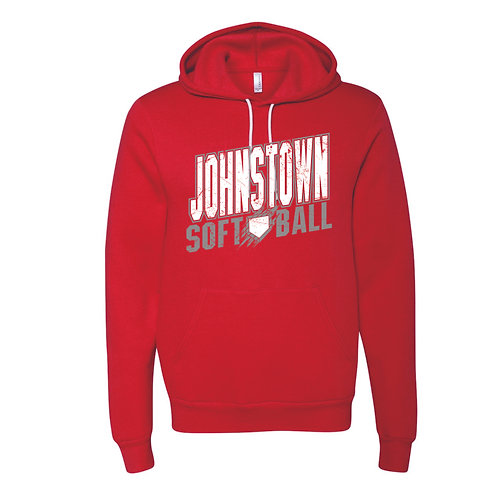 Softstyle Hoodie- RED - JSB21 - D1