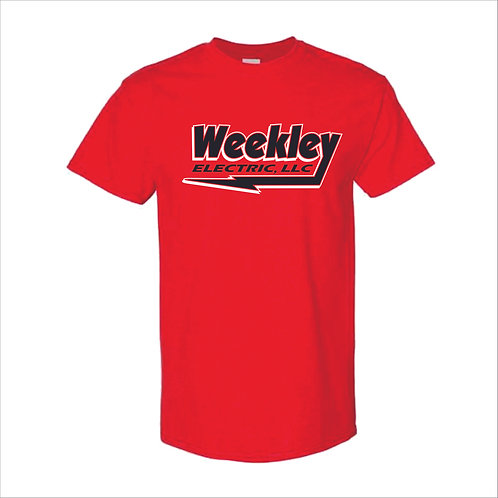 Weekley- T Shirt - RED - MC21