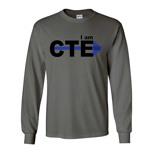 Skills Matter Charcoal Longsleeve Shirt