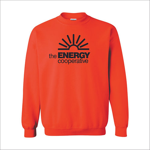 The Energy Co - Crewneck Sweatshirt - ORANGE - MC21