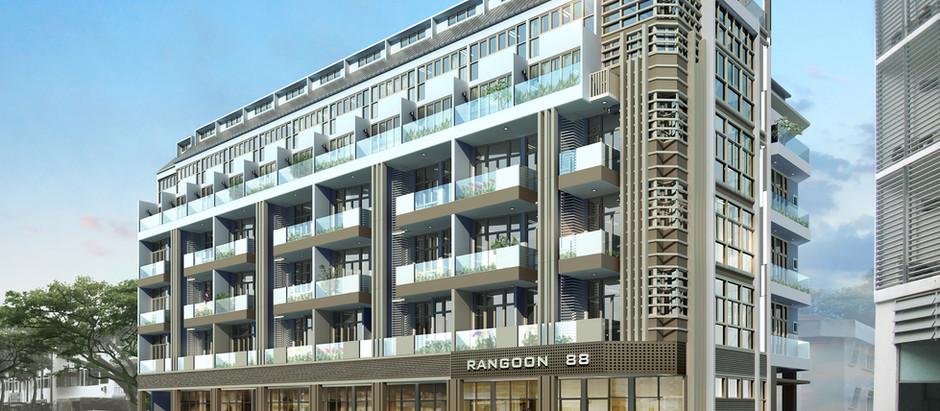 Construction of Rangoon 88