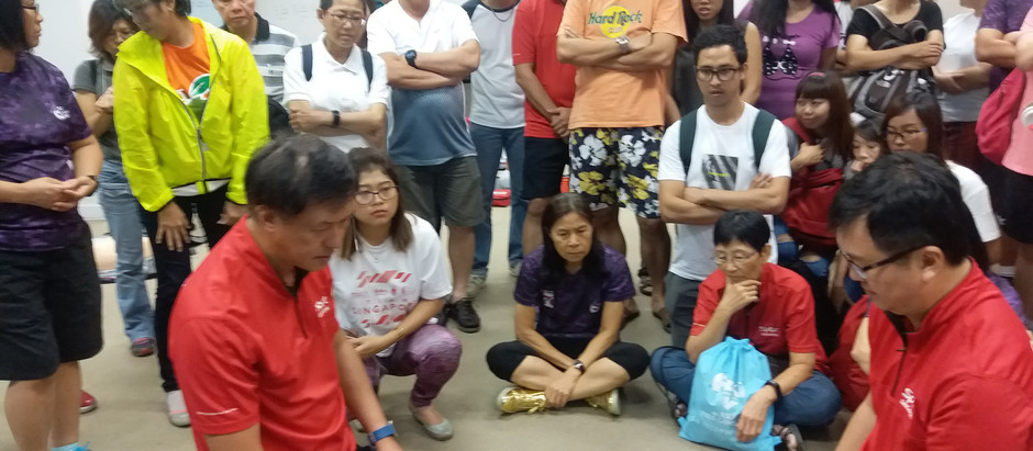 Active SG Training & Volunteering Programme