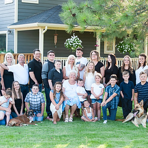 The Gould family 2019