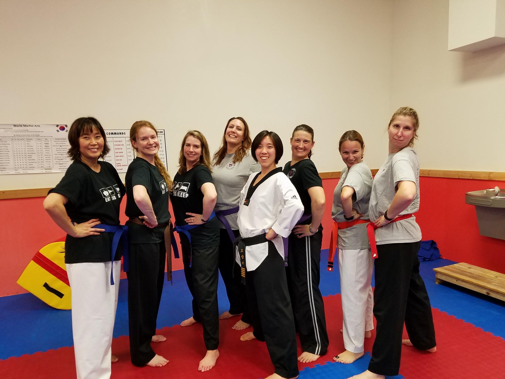 Amazing Taekwondo Moms!