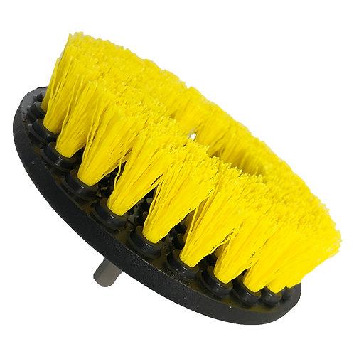 Yellow Drill Fabric Brush Zoom
