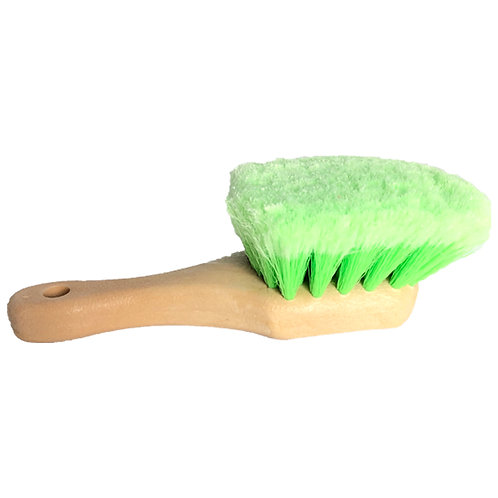 Short Reach Green Wheel Brush