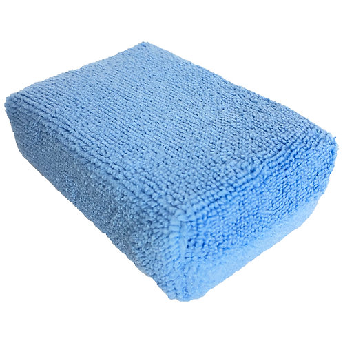 Blue Microfiber Applicator - 3 pack