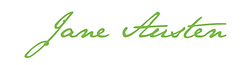 Jane austen, france, mansfield park,signature,écriture