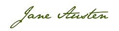 signature, jane austen, écriture, france