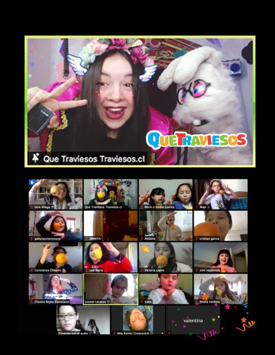 Cumpleaños Online 🖥 45 minutos en vivo