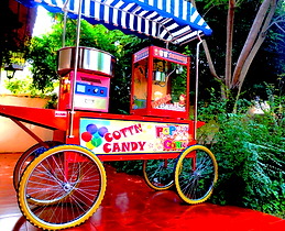 Carro Candy Cotton Algodos y cabritas Traviesos.cl