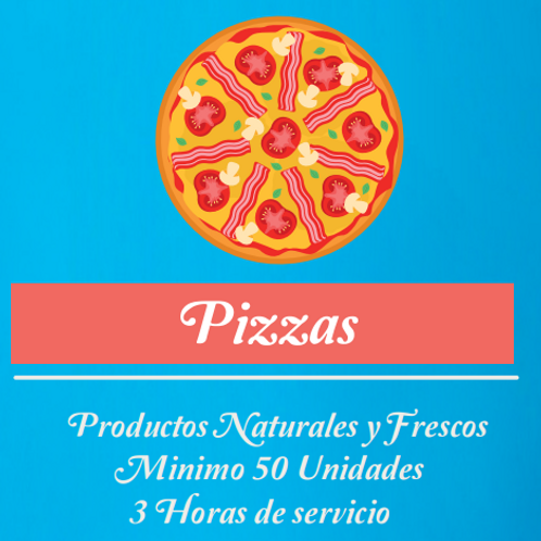 🍕 Pizzas (50 individuales)