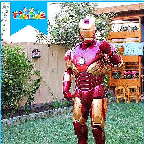 Iron Man + Animación + Pintacaritas + Concursos