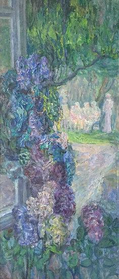 """""""The Nursery Window"""" 1975 by Noe Nesterovich Gedenidze (1914-2002)"""