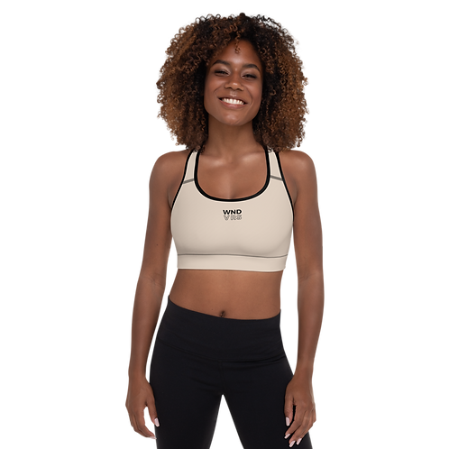 NudeZ Padded Sports Bra