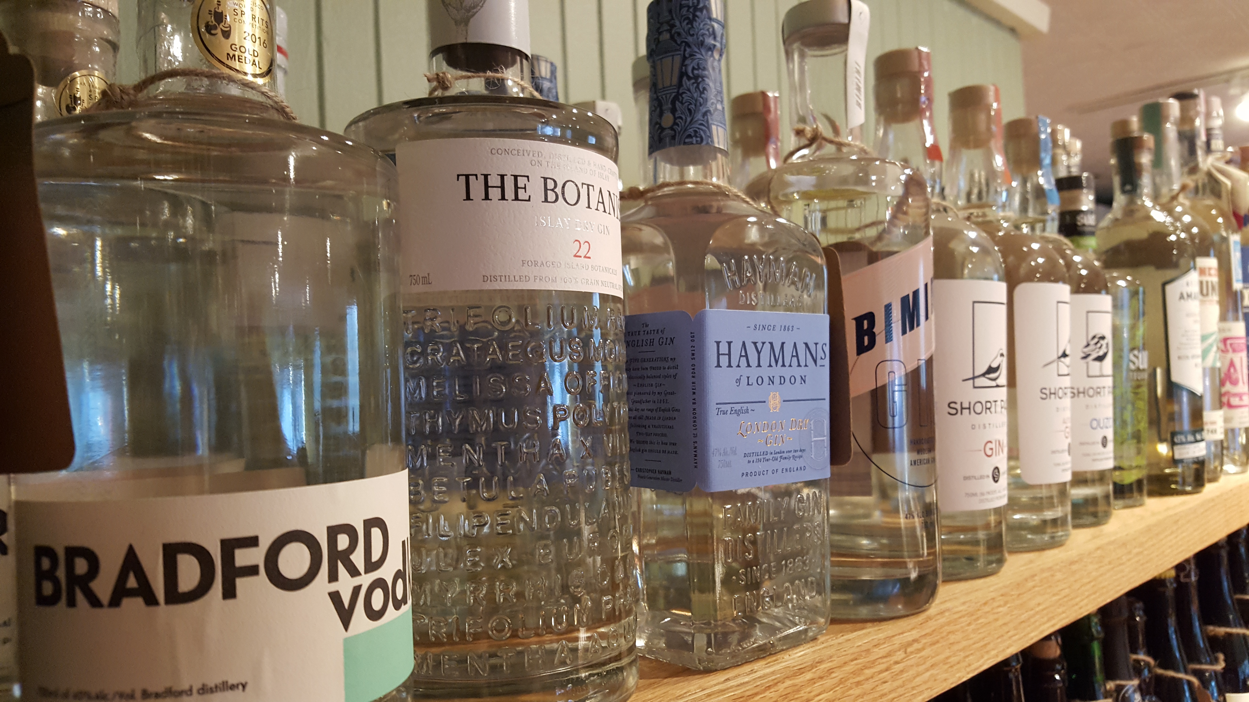 Vodka, Gin, Tequila, Mezcal, Pisco, Cachaca, Ouzo